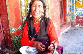 Tibeto padebesių laumės