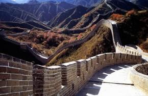 Stiprios liūtys nugriovė dalį Didžiosios kinų sienos