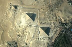 Pradingusias piramides pastebėjo iš kosmoso