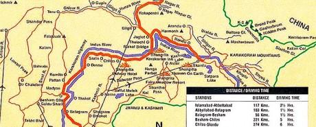 Karakoram_Highway_Map