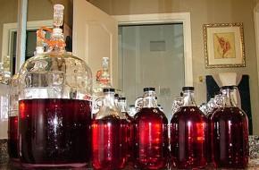 Naminio vyno paslaptys