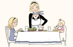 Prancūzų vaikai valgo viską