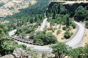 Oregonas. Senasis istorinis Kolumbijos kelias