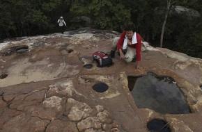 Kambodžoje rasti dingusio miesto griuvėsiai