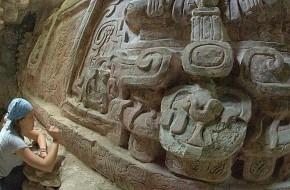 Gvatemaloje rastas unikalus majų bareljefas
