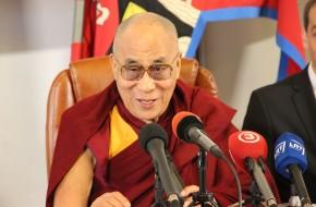 Dalai Lama XIV: laimė priklauso ne nuo turto