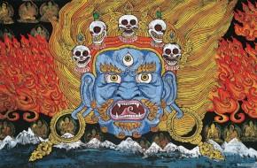 Tibeto kultūros dienose – thankų paroda