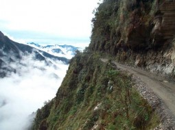 Mirties kelias Bolivijoje