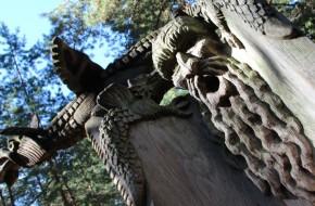 Atnaujinamos Raganų kalno skulptūros