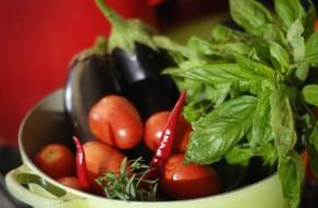 Bulgariškas baklažano ir paprikos paštetas