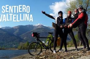 """""""Sentiero Valtellina"""" dviračių takas Italijos Alpėse"""