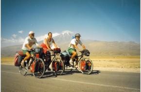Ir aš buvau Afrikoje.Aplink pasaulį dviračiais per 525 dienas