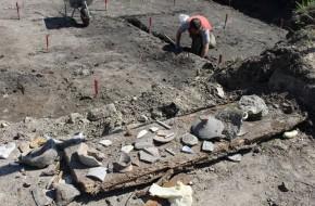Kaliningrade rastos mistinės viduramžių gyvenvietės liekanos