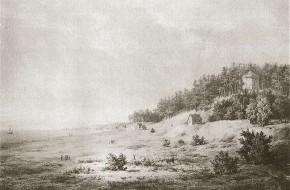 Birutės kalnas Palangoje