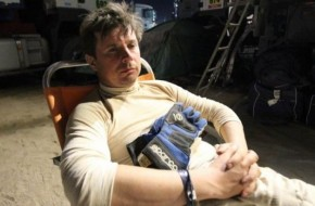 """""""Žalvaris – Dakar"""" komandą persekioja rimti mechaniniai gedimai"""
