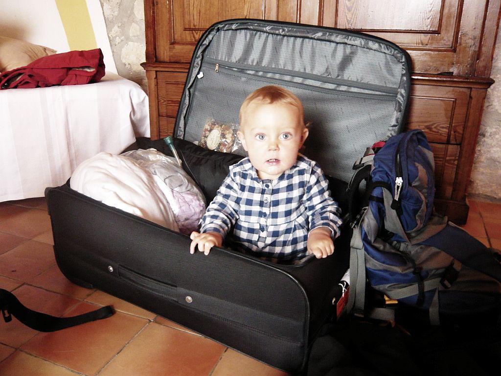 keliauti su vaikais