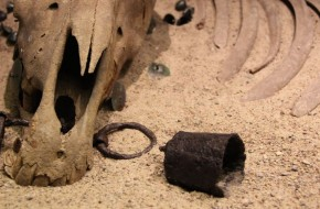 Archeologo A. Luchtano paskaita apie Kernavės tyrinėjimus
