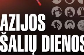 """Birželio 6–8 d. Vilniuje vyks """"Azijos šalių dienos"""""""