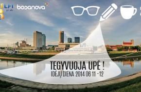 """Jachta Vilniaus krantinėje simbolizuoja idėją """"Tegyvuoja upė"""""""