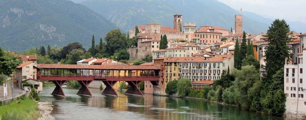 Bassano del Grappa miestas Italijoje