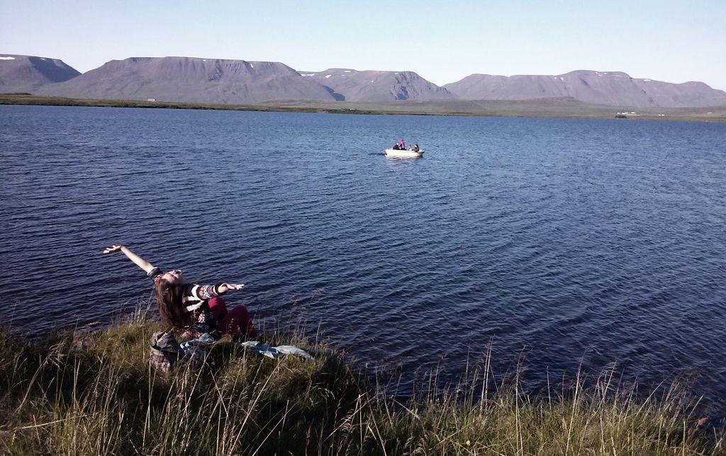 Siaures Islandijos Blonduos regionas