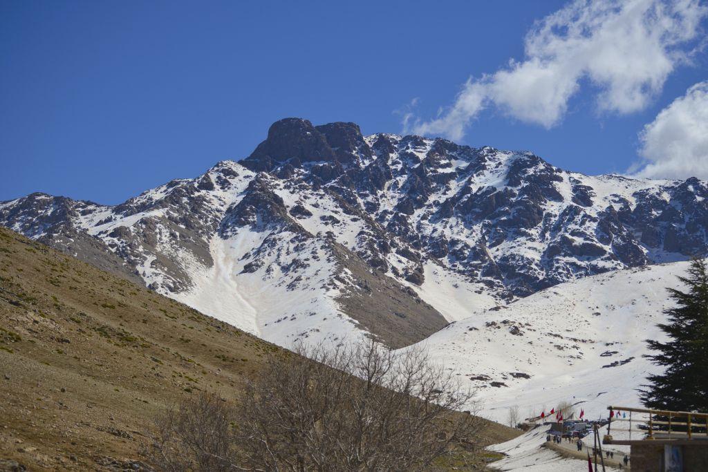 Oukaimeden mountain